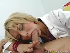 Lovely slut Brianna Beach feels very horny on this wonderful day