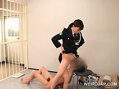 nasty-asian-police-woman-cunt-licked-by-horny-convict