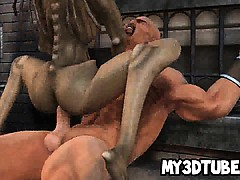 foxy-3d-monster-babe-getting-fucked-hard-outdoors