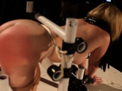 blonde-bdsm-lezdom-sub-gets-spanked-hard