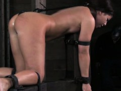 spider-gagged-sub-getting-caned