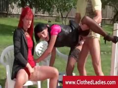clothed-threesome-outdoor