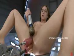 slut-with-big-tits-laying-on-her-back-on-table-and-getting-drilled-in-fetish-masturbation-video