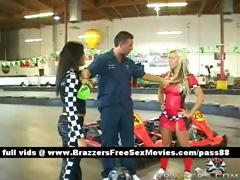 two-hot-babes-at-a-car-circuit
