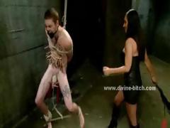crazy-beautifull-brunette-mistress-teaching-male-slave-the-manners-in-bdsm-femdom-sex-video