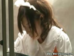 asian-waitress-fingered-while-serving