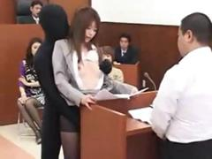 japanese-babe-lawyer-gets-fucked-by-a-invisible-man