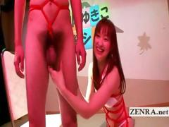 japan-cfnm-penis-play-and-kinky-bondage-by-yukiko-suo