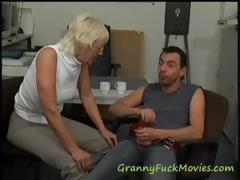 Watch hot granny porn