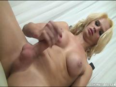 georgeous-blonde-tranny-jerks-off