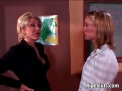 Older woman with big tits  seduced young part5