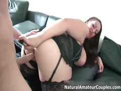 Thick amateur girlfriend with big tits part5