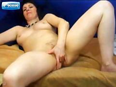 Mature On Webcam Fingering Her Pussy
