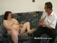younger-guy-dildos-old-womans-ass-and-fucks-her