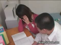 Sexy Asian Home Teacher With Nice Part1