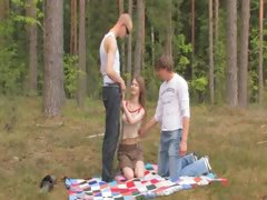 amateur-german-threesome-in-the-forest
